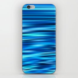 Blue Tussle iPhone Skin
