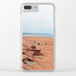 Giant Sandbox Clear iPhone Case
