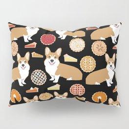 Corgi Pies - pumpkin pie, bakery, baker, cute food, pumpkin pie Pillow Sham