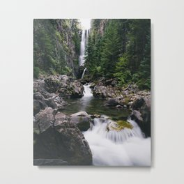 Colorado Hidden Waterfall Metal Print