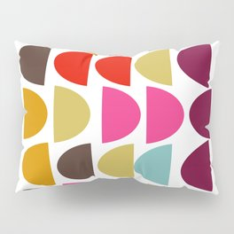 Geometric in Bright Fall Colors Pillow Sham