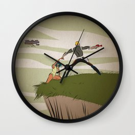 A Daring Escape Wall Clock