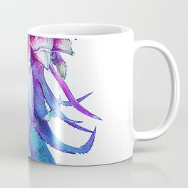 Sea Pineapple - Pink and Blue Coffee Mug