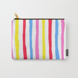 Colorful Stripes Pinata Carry-All Pouch