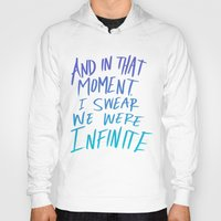 infinite Hoodies featuring Infinite by Leah Flores