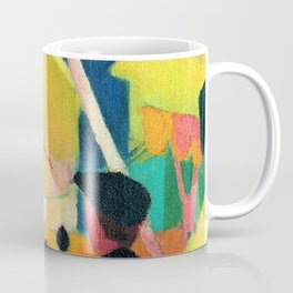 August Macke - Seiltanzer - Digital Remastered Edition Coffee Mug