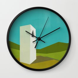 Simple Housing - A love tower Wall Clock