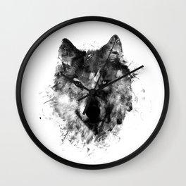 Wolf Like Me V2 Wall Clock