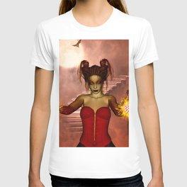 The dark fairy in the night T-shirt