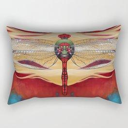 The Red Half Rectangular Pillow