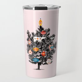 Retro Christmas tree no3 Travel Mug