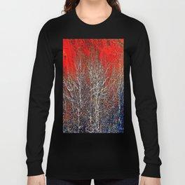 White Trees Long Sleeve T-shirt