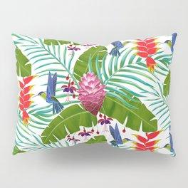 Hummingbird in the Rainforest Pillow Sham