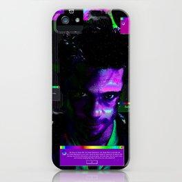 Tyler Durden iPhone Case