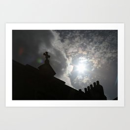 Shaded From The Sun Art Print