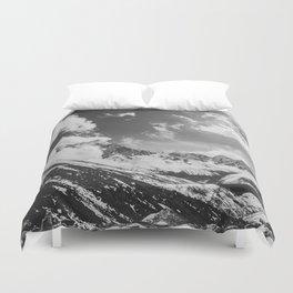Everest base camp Duvet Cover