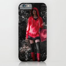 red in the hoodie Slim Case iPhone 6s