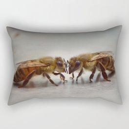 Who do you bee? (Color) Rectangular Pillow