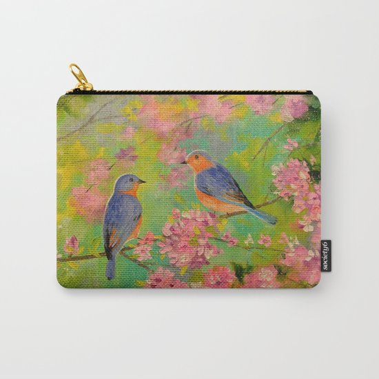 Spring melody Carry-All Pouch