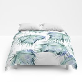 Floating Palm Leaves Comforters