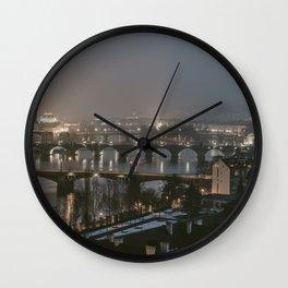 Prague, Czechia IX Wall Clock