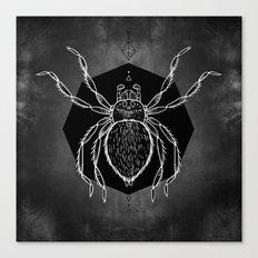 Spider Vignette Canvas Print
