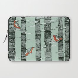 January Birds Laptop Sleeve