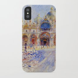 "Auguste Renoir ""The Piazza San Marco, Venice"" iPhone Case"