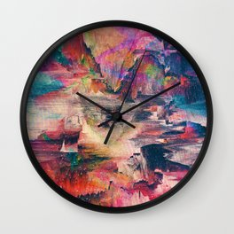 Glitch like that Wall Clock