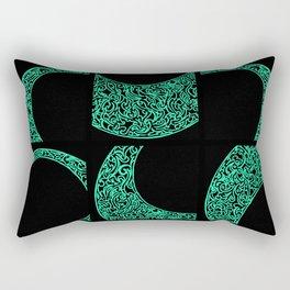 Emerald Solstice Rectangular Pillow