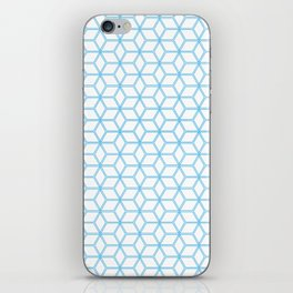 Hive Mind Blue #108 iPhone Skin