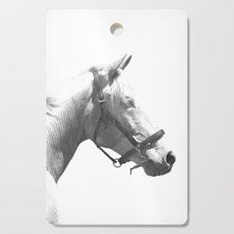 White horse Cutting Board