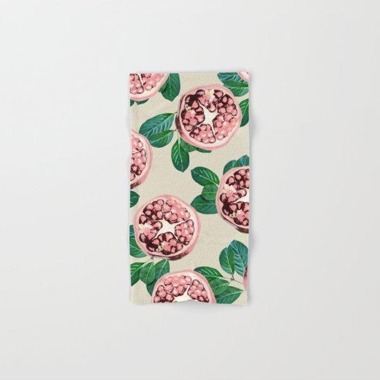 Pomegranate V2 #society6 #decor #buyart Hand & Bath Towel