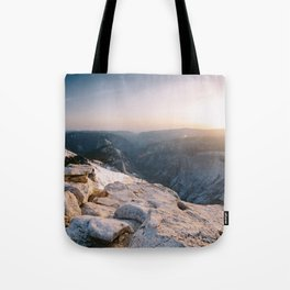 Clouds Rest Sunset Tote Bag