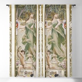 La Danse (1888-1898) painting in high resolution by Luc-Olivier Merson Blackout Curtain