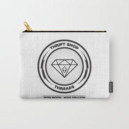 Thrift Shop Threads Button_Diamond Carry-All Pouch