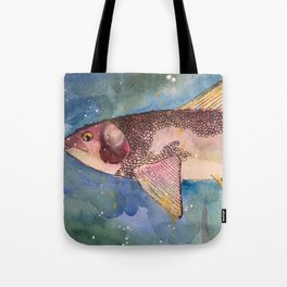 Mountain Whitefish (oddly not so white) Tote Bag