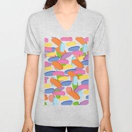 Rain of colors Unisex V-Neck