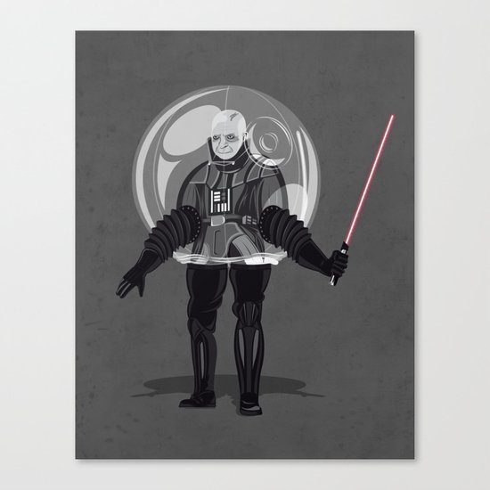 Bubble boy Vdr Canvas Print