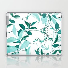 fresh green leaf pattern Laptop & iPad Skin