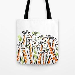Giraffe Banquet Tote Bag