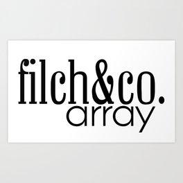 Arraybyfilch Art Print