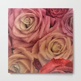 """""""Bouquet of fantasy roses (Fairy tale)"""" Metal Print"""