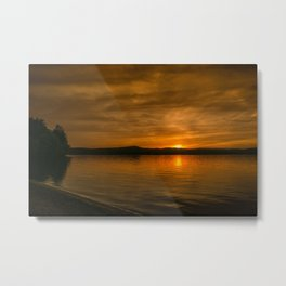 Belmont Beach Metal Print