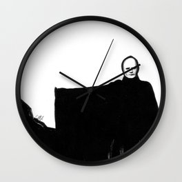 Nothing Escapes Me, No One Escapes Me Wall Clock