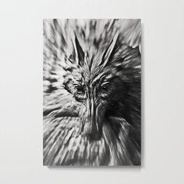 Zoom Wolf Metal Print