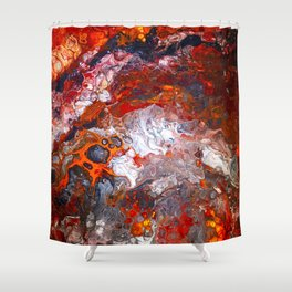 Inferno No. 1 Shower Curtain