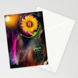 Mystical world - sunrise Stationery Cards