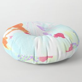 PATCHOULI SEAS Floor Pillow