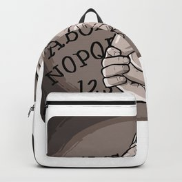 Ouija Ghost Horror Paranormal Or Ghost Hunter Gift Backpack